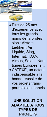 transports exceptionnels industrie